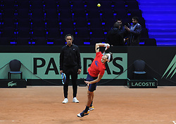 November 22, 2018 - France - Finale Coupe Davis 2018 - Herbert - France (Credit Image: © Panoramic via ZUMA Press)