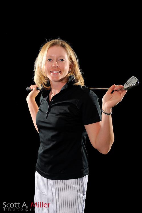 Leah Wigger during a portrait shoot prior to the LPGA Futures Tour's Daytona Beach Invitational at LPGA International's Championship Courser on March 31, 2011 in Daytona Beach, Florida... ©2011 Scott A. Miller
