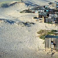 Favela do Siri, Dunas na Praia dos Ingleses, Florianopolis, Santa Catarina, Brasil. foto de Ze Paiva/Vista Imagens