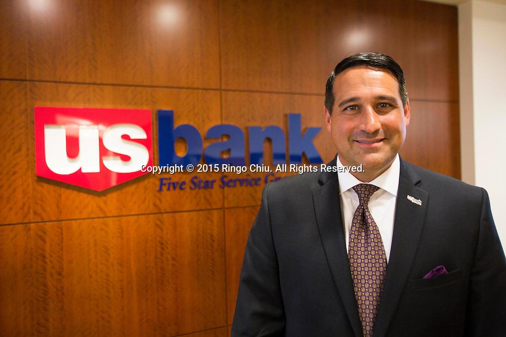 Steve Sherline, wealth manager of U.S. Bank.(Photo by Ringo Chiu/PHOTOFORMULA.com)