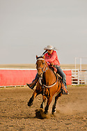 Rocky Boy Rodeo-kids-Indians-teenagers-Pole Bending-Rocky Boy Reservation-Montana