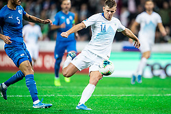 Roman Bezjak of Slovenia during the 2020 UEFA European Championships group G qualifying match between Slovenia and Israel at SRC Stozice on September 9, 2019 in Ljubljana, Slovenia. Photo by Grega Valancic / Sportida