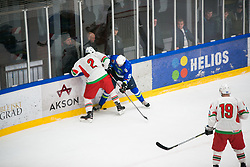 Ziga Jeglic during Ice Hockey match between National teams of Slovenia and Belarus at International tournament Euro ice hockey Challenge 2019, on February 9, 2019 in Ice Arena Bled, Slovenia. Photo by Peter Podobnik / Sportida