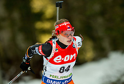 Ivona Fialkova of Slovakia competes during Women 7.5 km Sprint at day 1 of IBU Biathlon World Cup 2014/2015 Pokljuka, on December 18, 2014 in Rudno polje, Pokljuka, Slovenia. Photo by Vid Ponikvar / Sportida