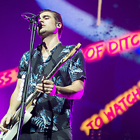 Busted in concert at The SSE Hydro, Glasgow, UK 23rd March 2019