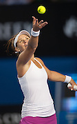 Australian home country favorite Casey Dellacqua (AUS)  faced Canadian Eugenie Brouchard in the fourth round, seventh day of the 2014 Australian Open. Brouchard won the match 7(7) - 6(5), 2-6, 0-6. The match was held on center court at Melbourne's Rod Laver Arena.