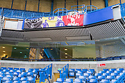 Inside Stamford Bridge Stadium prior to the Premier League match between Chelsea and Crystal Palace at Stamford Bridge, London, England on 4 November 2018.