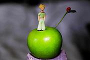 Figurine of The Little Prince (Le Petit Prince), by Antoine de Saint-Exupery