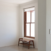 Residential window and bench.<br />