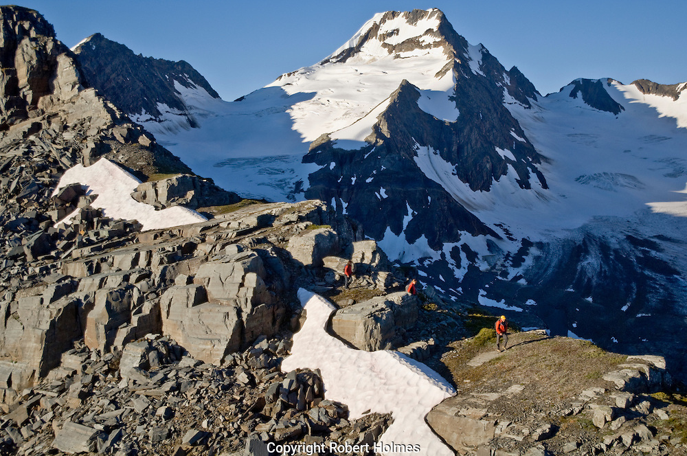 Climbing in the Bugaboo Mountains, British Columbia, Canada