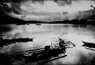 19..Twilight over the bay at Coron Town, Busuanga Island, Philippines.