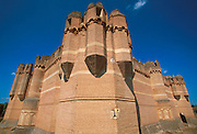 SPAIN, CASTILE  and amp; LEON Coca Castle in 15thc.'Mudejar' style