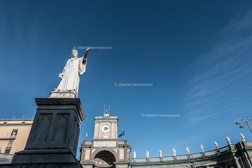 Naples, Dante square