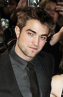 Robert Pattinson The Twilight Saga: Breaking Dawn Part 1 UK Premiere, Westfield Startford City, London, UK. 16 November 2011. Contact rich@pictured.com +44 07941 079620 (Picture by Richard Goldschmidt)