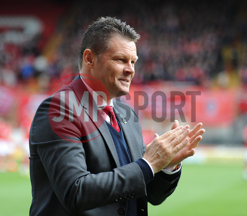 Bristol City manager Steve Cotterill - Photo mandatory by-line: Paul Knight/JMP - Mobile: 07966 386802 - 03/05/2015 - SPORT - Football - Bristol - Ashton Gate Stadium - Bristol City v Walsall - Sky Bet League One
