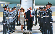 President Trump & First Lady Melania - Stansted, UK