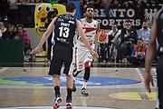 palleggio<br /> Legabasket Campionato Serie A 2018/19<br /> 26° Giornata - Ritorno - <br /> Dolomiti Energia Trentino - VL Pesaro  81-76 <br /> Trento 14/04/2019  <br /> BLM Group Arena Ore 19:30<br /> Foto GIulioCiamillo/Ciamillo