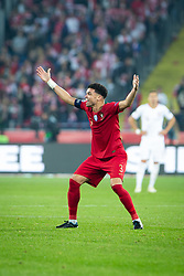 October 11, 2018 - Chorzow, Slask, Poland - Pepe (Kepler Laveran de Lima Ferreira) during the UEFA Nations League A soccer match between Poland and Portugal at Silesian Stadium in Chorzow, Poland on 11 October 2018  (Credit Image: © Mateusz Wlodarczyk/NurPhoto via ZUMA Press)