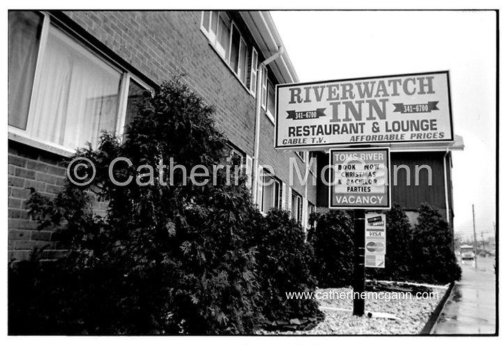 The River Watch Inn hotel in Tom's River, New Jersey where Michael Alig was arrested.  <br /> <br /> Copyright Catherine McGann / All Rights Reserved<br /> www.catherinemcgann.com<br /> catherinemcgann@gmail.com