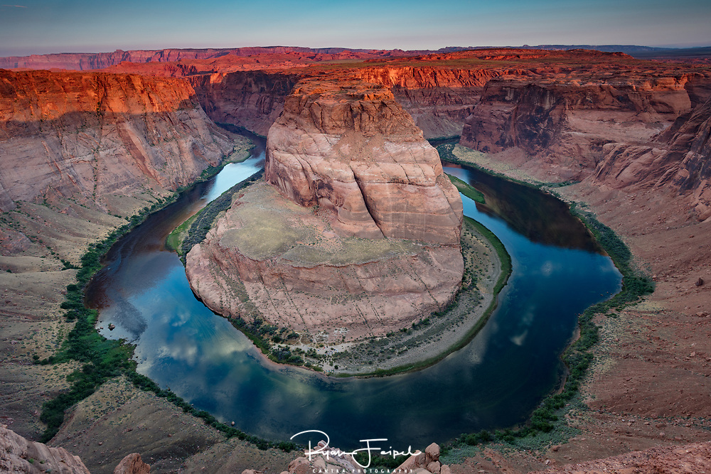 This is one of my favorite spots to view the Colorado River.  Another of natures demonstration of the powerful effect water has on the most formidable terrains.