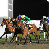 Misdemeanour and Richard Hughes winning the 7.40 race