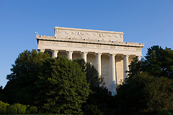 "The Lincoln Memorial is located on the National Mall in Washington, D.C. It is a United States Presidential memorial built to honor the 16th president of the United States, Abraham Lincoln. The architect was Henry Bacon, the sculptor was Daniel Chester French, and the painter of the interior murals was Jules Guerin...The building is in the form of a Greek Doric temple and contains a large seated sculpture of Abraham Lincoln and inscriptions of two well-known speeches by Lincoln. The memorial has been the site of many famous speeches, including Martin Luther King's ""I Have a Dream"" speech, delivered on August 28, 1963, during the rally at the end of the March on Washington for Jobs and Freedom...Like other monuments on the National Mall, including the nearby Vietnam Veterans Memorial, Korean War Veterans Memorial, and National World War II Memorial, the Lincoln Memorial is administered by the National Park Service under its National Mall and Memorial Parks group. The National Memorial has been listed on the National Register of Historic Places since October 15, 1966. It is open to the public 24 hours a day. In 2007, it was ranked seventh on the List of America's Favorite Architecture by the American Institute of Architects."