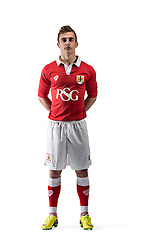 Bristol City's Joe Bryan - Photo mandatory by-line: Joe Meredith/JMP - Mobile: 07966 386802 09/07/2014 - SPORT - FOOTBALL - Bristol - Ashton Gate - Bristol City Kit Launch