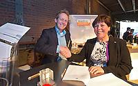UTRECHT -  NVG voorzitter Jacqueline Lambrechtse tijdens het het NVG congres met als thema 'vinden& binden'. COPYRIGHT KOEN SUYK