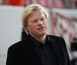 16.09.2015, Karaiskakis Stadium, Piräus, GRE, UEFA CL, Olympiakos Piräus vs FC Bayern München, Gruppe F, im Bild Oliver Kahn (Fussballexperte) // during UEFA Champions League group F match between Olympiacos F.C. and FC Bayern Munich at the Karaiskakis Stadium in Piräus, Greece on 2015/09/16. EXPA Pictures © 2015, PhotoCredit: EXPA/ Eibner-Pressefoto/ Kolbert<br /> <br /> *****ATTENTION - OUT of GER*****