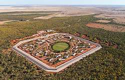 Aerial view of the new Derby Prison