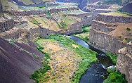 Palouse River Canyon in southeast Washington