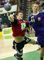 Håndball<br /> 28.10.2005<br /> Norge v Polen<br /> Foto: Wrofoto/Digitalsport<br /> NORWAY ONLY<br /> <br /> FRANK LØKE
