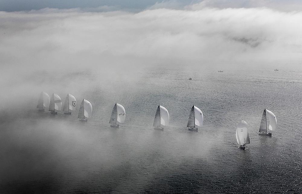 Farr 40 Fleet through the fog - Day two