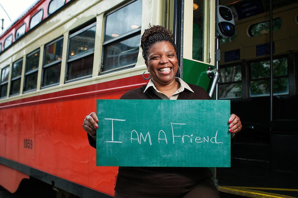 I am a Friend   Valerie, Muni Green Division Streetcar Operator   March 27, 2012