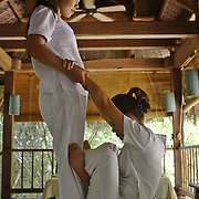 Massage at the Evason Hideaway in Nha Trang, Vietnam.
