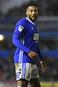 Goalscorer Birmingham City midfielder David Davis (26) 3-0 during the EFL Sky Bet Championship match between Birmingham City and Sunderland at St Andrews, Birmingham, England on 30 January 2018. Photo by Alan Franklin.