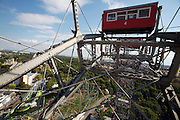 The Riesenrad (Ferris wheel) at the Prater, Vienna's famous luna park.