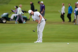 September 8, 2018 - Newtown Square, Pennsylvania, United States - Alex Noren putts the 10th green during the third round of the 2018 BMW Championship. (Credit Image: © Debby Wong/ZUMA Wire)