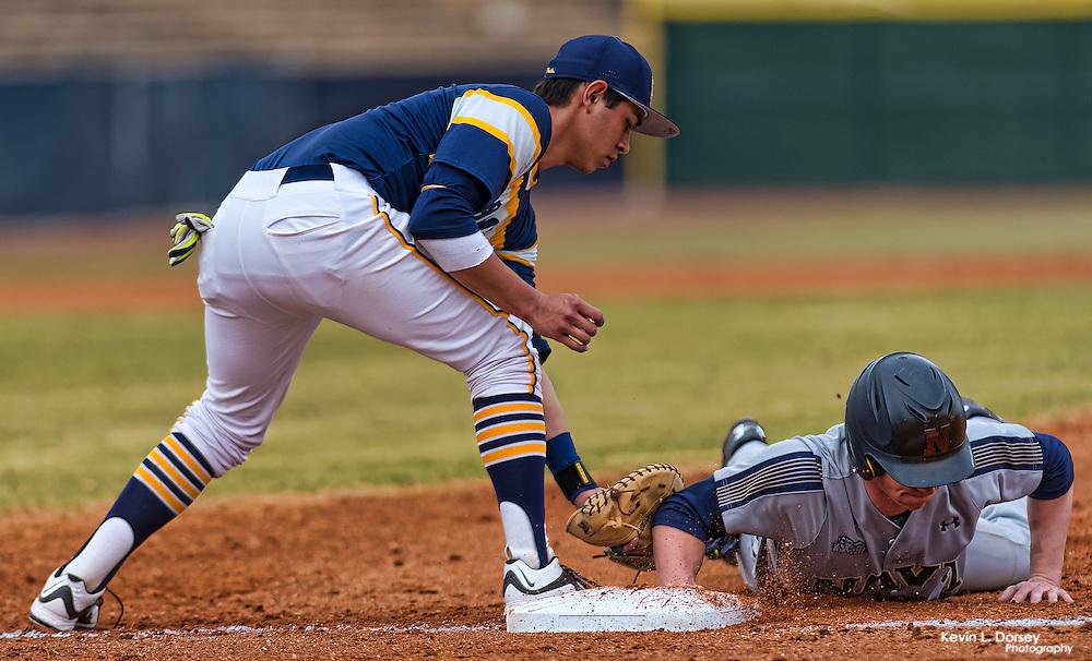 2016 A&T Baseball vs Navy