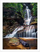 Empress Falls [Blue Mountains NP, NSW, Australia]<br /> <br /> Image ID: 007140. Order by email to orders@girtbyseaphotography.com quoting the image ID, preferred print size & media. Current standard size prices are published on the Pricing page. Custom sizes also available.