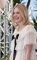 Actress Elle Fanning at the The Neon Demon film photo call at the 69th Cannes Film Festival Friday 20th May 2016, Cannes, France. Photography: Doreen Kennedy