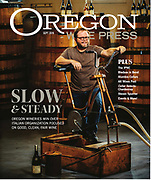 Brad Ford winemaker of Illahe Vineyards for the Slow Wine article for Oregon Wine Press