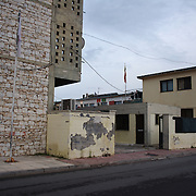 Unlike, many other camps, Lavrion camp is situated in the middle of the town.