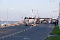 East link toll bridge in Dublin Ireland