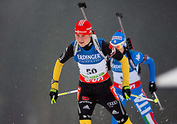 BACHMANN Tina of Germany competes during Women 10 km Pursuit competition of the e.on IBU Biathlon World Cup on Thursday, December 15, 2012 in Pokljuka, Slovenia. The third e.on IBU World Cup stage is taking place in Rudno polje - Pokljuka, Slovenia until Sunday December 16, 2012. (Photo By Vid Ponikvar / Sportida.com)