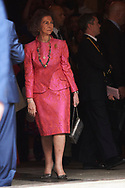 Queen Sofia of Spain attended the Easter Mass at the Cathedral of Palma de Mallorca on April 16, 2017 in Palma de Mallorca, Spain.