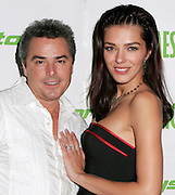 NEW YORK - OCTOBER 24: Actor Christopher Knight and wife model Adrianne Curry present at the 6th Annual High Times Stony Awards at B.B. King's on October 20, 2006 on Broadway in New York City.