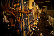 Overcrowded cells and garbage plague Izalco men's prison for incarcerated members of the Mara 18 gang, in El Salvador.