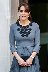 © Licensed to London News Pictures. 27/10/2015. London, UK. The Duchess of Cambridge leaving a charity event organised by Chance UK at Islington Town Hall in north London on Tuesday, 27 October 2015. Photo credit: Tolga Akmen/LNP