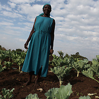 Women are empowered to nurture mother earth while finding economic opportunities in her bounty.  Many women candidates for office in Kenya are supportive of indigenous cultivation that utilize environmentally friendly policies.<br /> Photo by Ellie Van Houtte